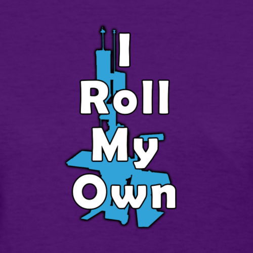 CloverTac Roll The Blue Tee - Women's T-Shirt