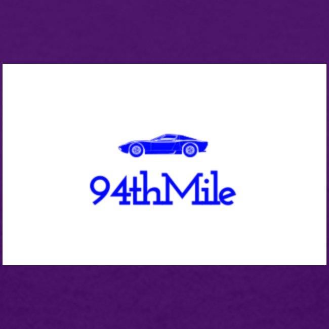 Blue 94th mile