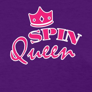 Spin Queen Cute Spin Class Tee Shirt - Women's T-Shirt