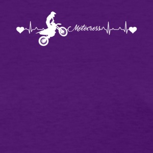 Motocross Heartbeat Shirt - Women's T-Shirt