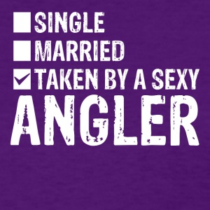 Single Married Taken by a sexy angler - Women's T-Shirt
