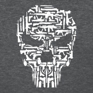 Skull and Guns and Knives Graphic T shirt - Women's T-Shirt