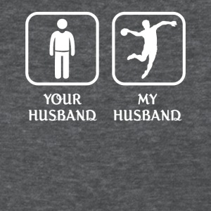Husband Handball Player Love- cool shirt,geek hood - Women's T-Shirt