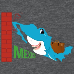 A funny map of Mexico: Mexico and the wall - Women's T-Shirt