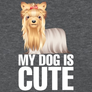 My_dog_is_cute_5_white - Women's T-Shirt