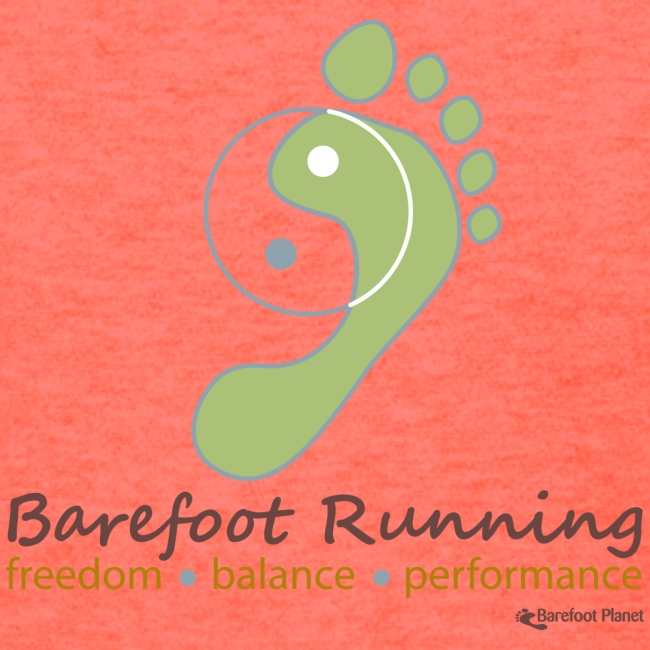 Barefoot Running 1 Women's T-Shirts