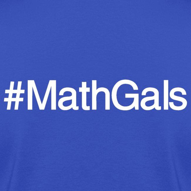 Math Gals 2019 w/ #MathGals hashtag