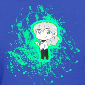 Chibi Nullify Paint Splatter - Women's T-Shirt