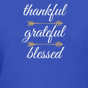 Thankful White - Women's T-Shirt