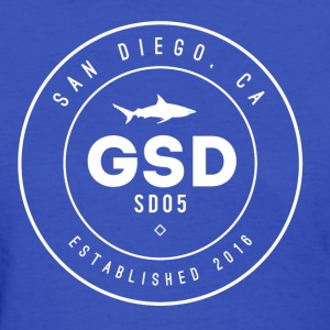 GSD WHITE SHARK - Women's T-Shirt