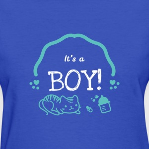Newborn It's A Boy Cute Novelty Statement Apparel - Women's T-Shirt