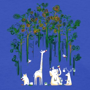 Meanwhile In The Woods - Women's T-Shirt
