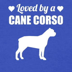 Loved By A Cane Corso - Women's T-Shirt