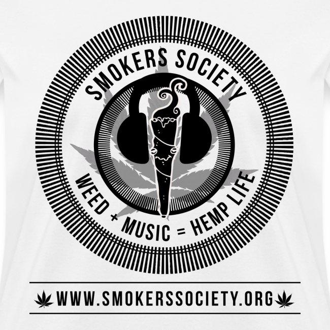 Smokers Society Logo black print png