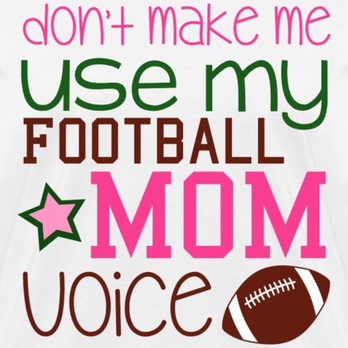 footballmomvoice png - Women's T-Shirt