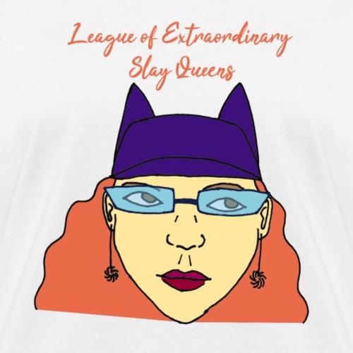 Cat Ears Slay Queen - Women's T-Shirt