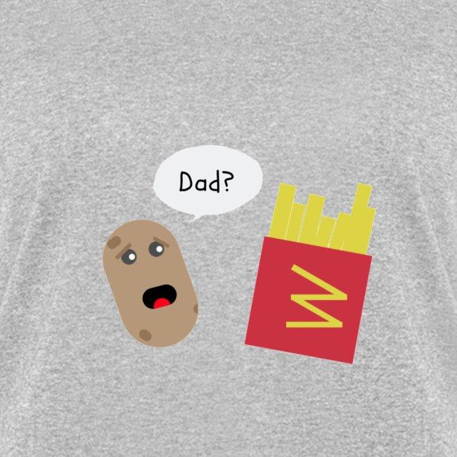 Worried potato