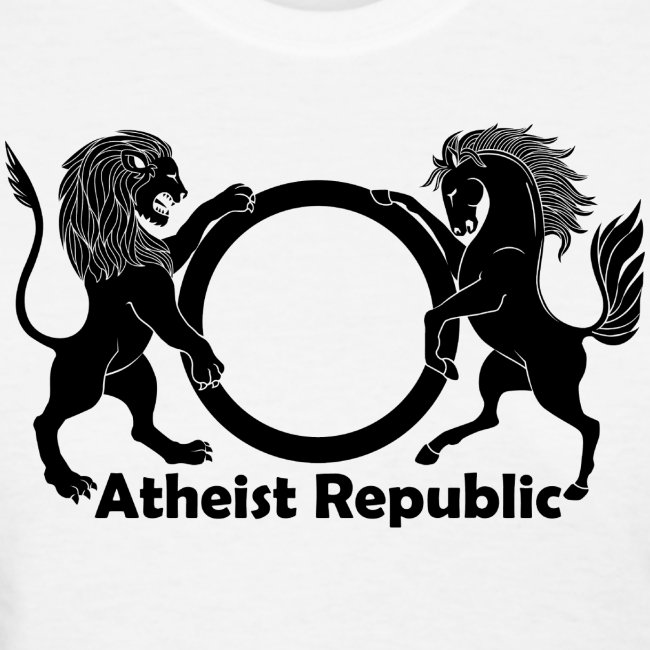 Atheist Republic Logo Black Large