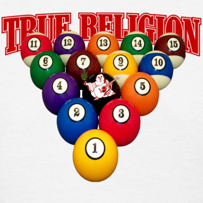 TRUE RELIGION BILLIARD INSPIRED