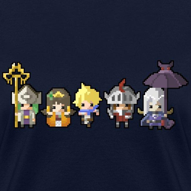 Half Minute Hero characters