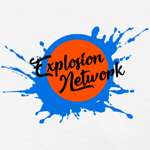 White Explosion Network Pocket Tee
