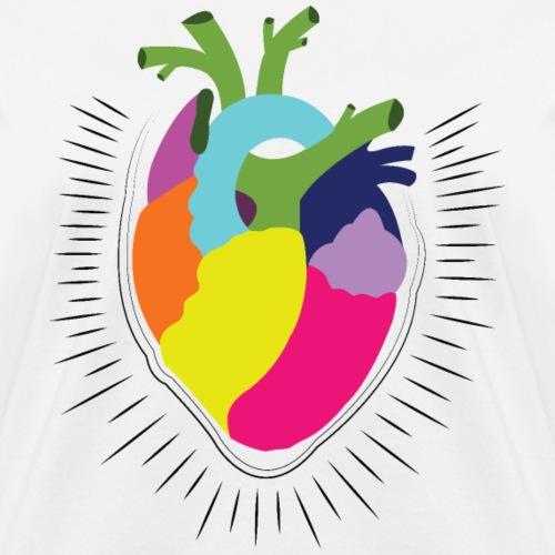 Colorful Heart - Women's T-Shirt