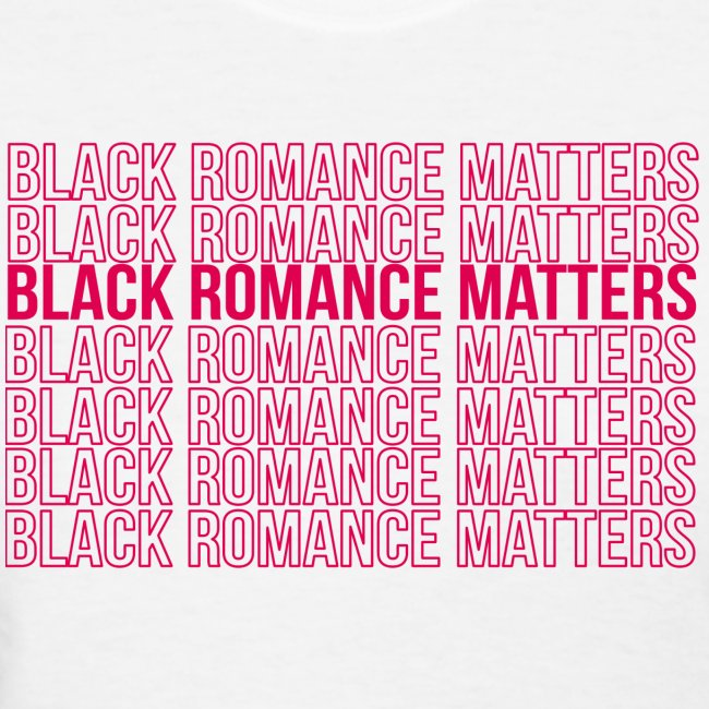 Black Romance Matters Grocery Bag tee