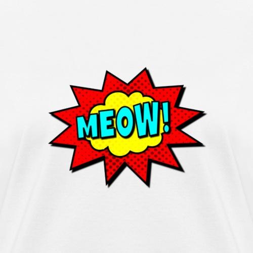 pop art meow - Women's T-Shirt