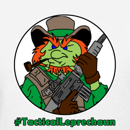 Tactical Leprechaun Tee - Women's T-Shirt