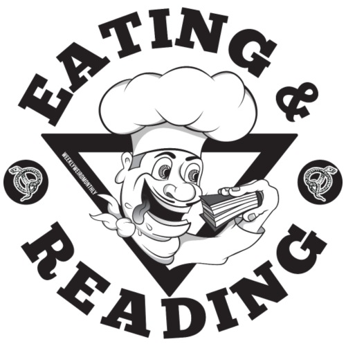 Eating&Reading-Artwork - Women's T-Shirt
