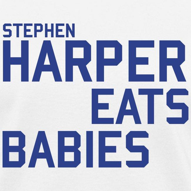 Stephen Harper Eats Babies