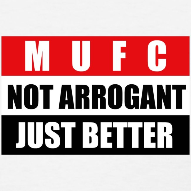 Not arrogant just better flag