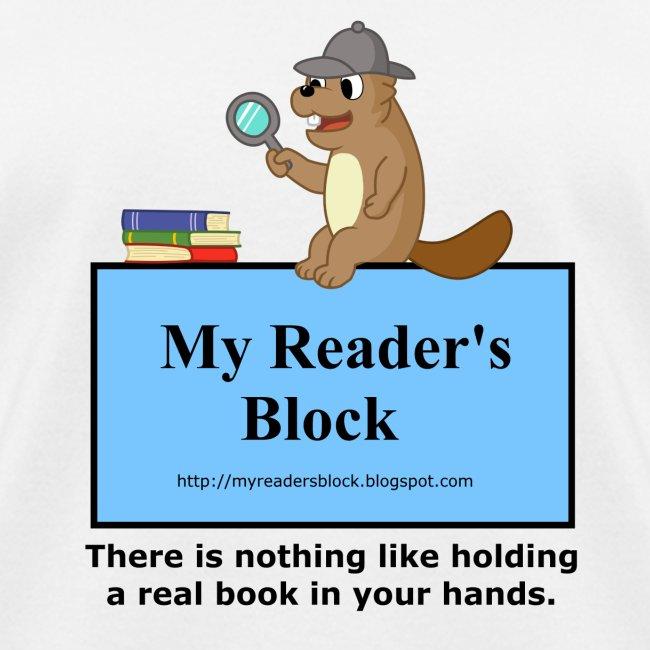 My Reader's Block Tee Mens Style #2
