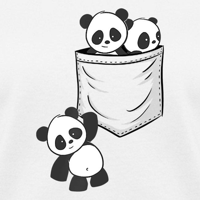 For Panda Lovers Cute Kawaii Baby Pandas In Pocket