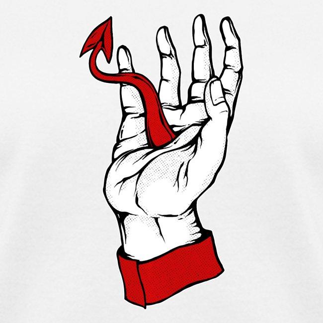 Devil Hand Satanic Aesthetic Grunge Punk Pastel