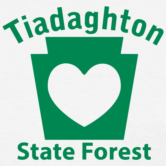 Tiadaghton State Forest Keystone Heart