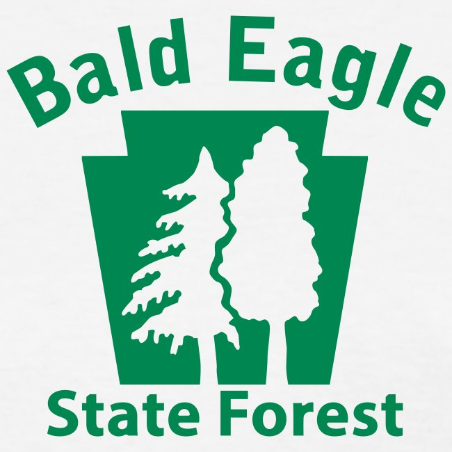Bald Eagle State Forest Keystone (w/trees)