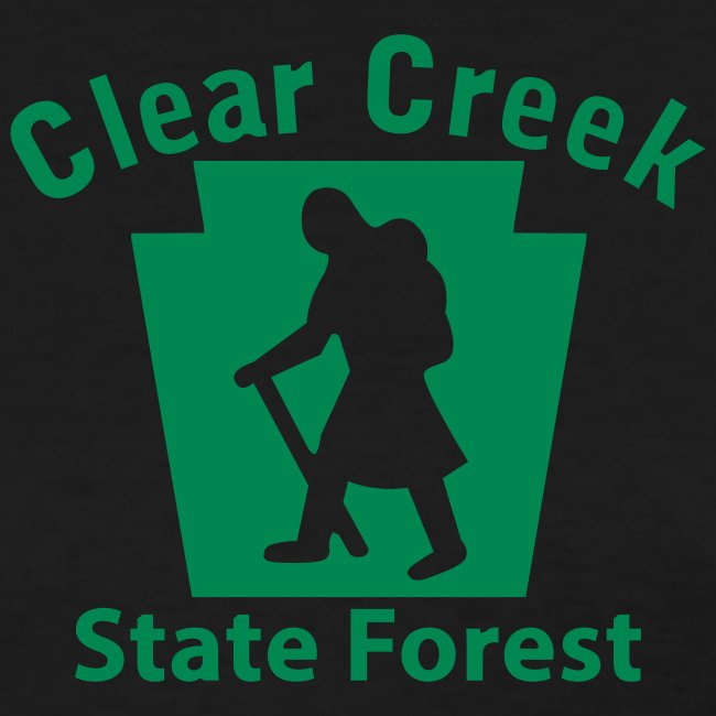 Clear Creek State Forest Keystone Hiker female