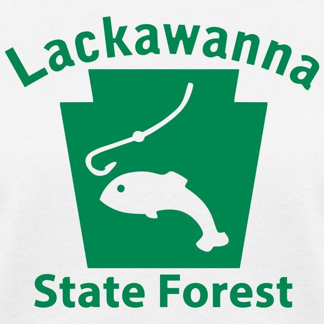 Lackawanna State Forest Fishing Keystone PA