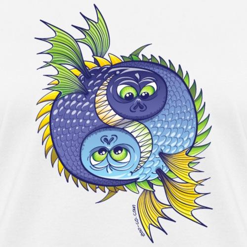 Monstrous Yin Yang - Women's T-Shirt