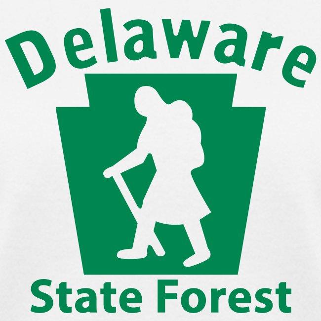Delaware State Forest Keystone Hiker female