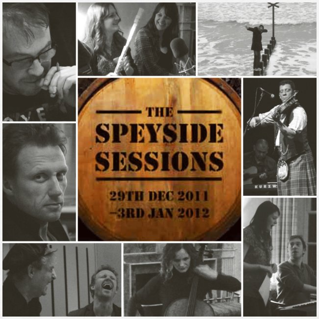 Speyside Sessions album cover