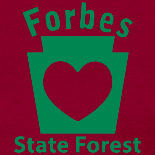 Forbes State Forest Keystone Heart