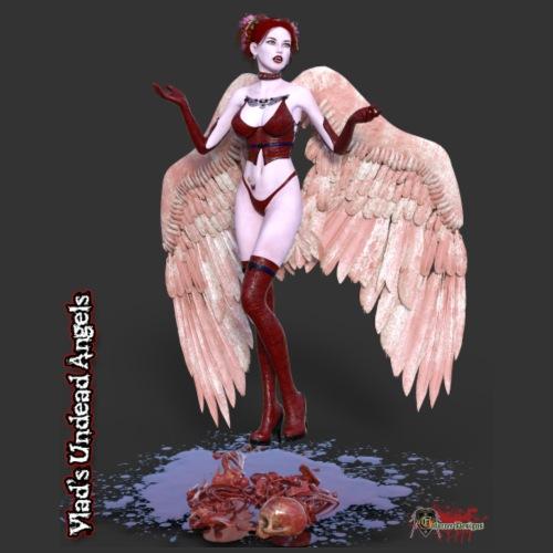 Undead Angel Scarlet 1002 - Women's T-Shirt