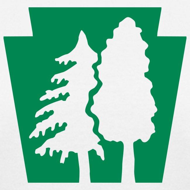 PA Keystone w/trees