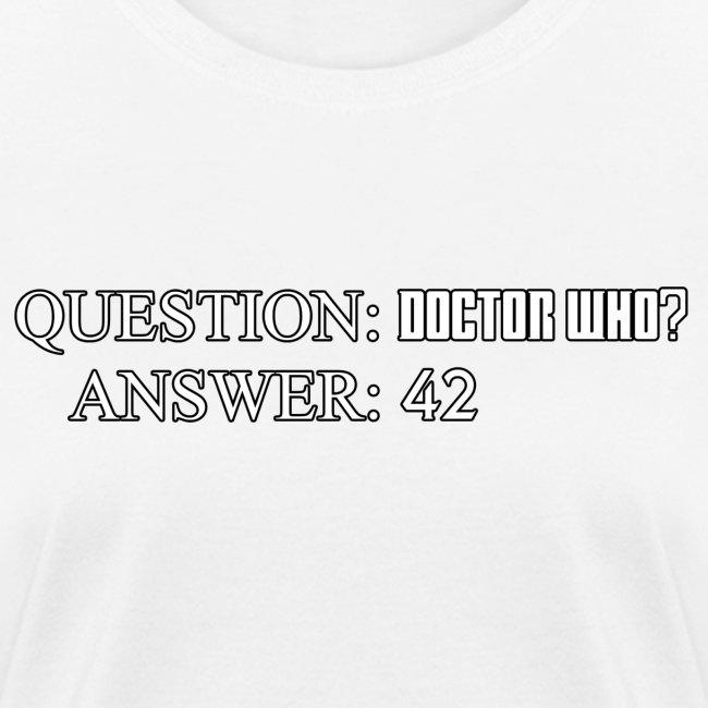questiondoctorwho