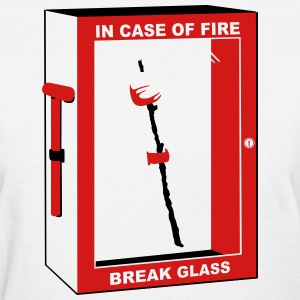 In case of fire, marshmallow - Women's T-Shirt