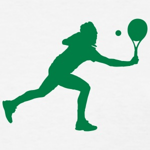 Tennis player silhouette - Women's T-Shirt