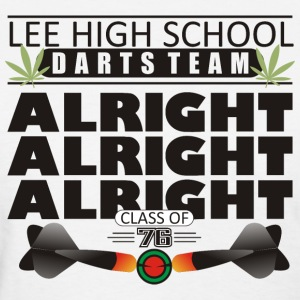 Lee High School Darts Team Class of 1976 - Women's T-Shirt