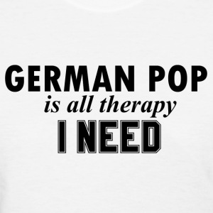 GERMAN POP Design - Women's T-Shirt
